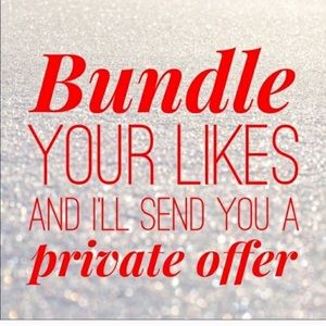 Add like(s) to a bundle for a private offer!